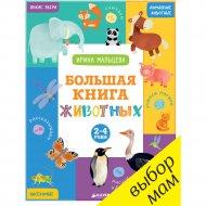 Книга «Большая книга животных. 2-4 года».
