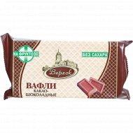 Вафли «Какао-шоколадные» на фруктозе, 105г.