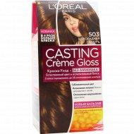 Краска-уход «Casting Creme Gloss» шоколадная глазурь.