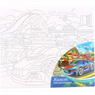 Набор для декоративного творчества «Красивые машины» Х-0392, 3+.