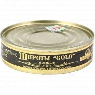 Шпроты «Gold» в масле, 160 г.