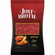 Чипсы «Just Brutal» со вкусом горячего соуса чили, 85 г.