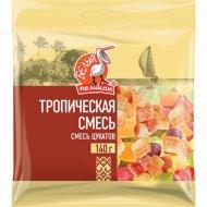 Смесь цукатов «Белый Пеликан» тропическая, 140 г.
