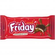 Печенье сахарное «Friday» с начинкой шоколад, 63 г.