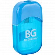 Точилка для карандашей «BG» голубая