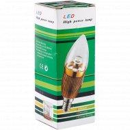 Светодиодная LED лампа, BU1-E27-3W, 220V Х