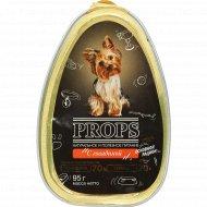 Корм для собак консервированный «Props» с говядиной, 95 г.