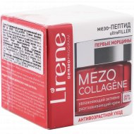 Крем «Lirene» Mezo collagene, увлажняющий, SPF 10, 50 мл.