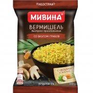 Вермишель «Мивина» со вкусом грибов, 59.2 г.