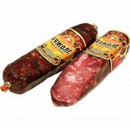 Сыровяленое колбасное изделие «Бужоле» 1 кг., фасовка 0.2-0.25 кг