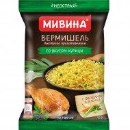 Вермишель быстрого приготовления МИВИНА со вкусом курицы неострая, 59.2 г