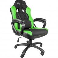 Кресло компьютерное «Genesis» NITRO 330, NFG-0906 Gaming Black-Green.