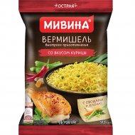 Вермишель быстрого приготовления МИВИНА со вкусом курицы острая, 59.2 г