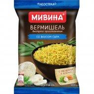 Вермишель быстрого приготовления МИВИНА со вкусом сыра неострая, 59.2 г
