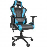 Кресло компьютерное nitro «Genesis» NFG-0786 Gaming Black-Blue.