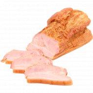Продукт из свинины «Бекон Альпийский» копчено-вареный, 1 кг., фасовка 0.6-0.9 кг