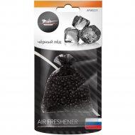 Ароматизатор подвесной «Мешочек с гранулами» черный лед.