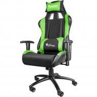 Кресло компьютерное nitro «Genesis» NFG-0907 Gaming Black-Green.