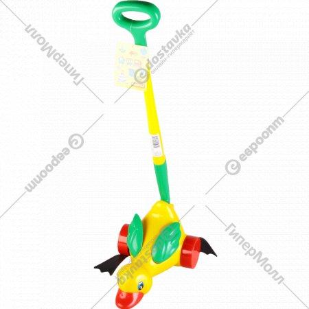 Игрушка-каталка «Утенок» с ручкой