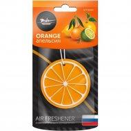 Ароматизатор подвесной «Сочный фрукт» апельсин.