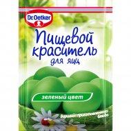 Пищевой краситель жидкий «Д-р Оеткер» зеленый, 5 мл.