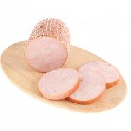 Продукт из цыплят «Рулет праздничный» копчено-вареный, 520 г.