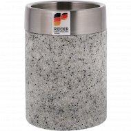 Стакан туалетный полирезин «Stone» 7.5 х 7.5 х 10.4 см.