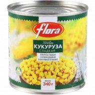Кукуруза консервированная «Flora» 340 г.