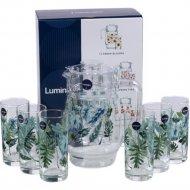 Набор для напитков «Luminarc» Tropical Foliage, 7 предметов