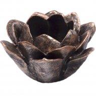 Подсвечник «Belbohemia» Роза, 10x10x5 см