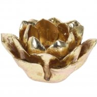 Подсвечник «Belbohemia» Лотос, 12x12x3.5 см