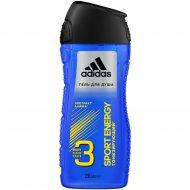 Шампунь и гель для душа «Adidas» Sport Energy, 250 мл.