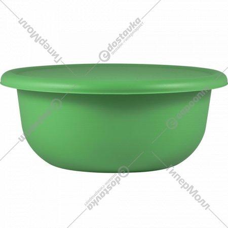 Миска с крышкой, бархатно-зеленый, 1.2 л.