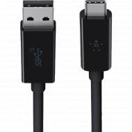 Кабель USB Type C «Belkin» F2CU029BT1M-BLK.