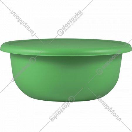 Миска с крышкой, бархатно-зеленый, 2.1 л.
