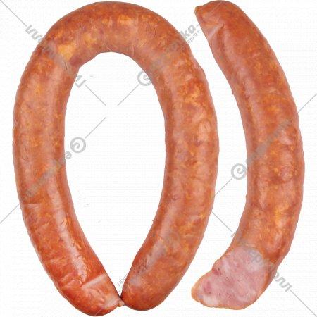 Колбаса полукопчёная «Правдинская» 1 кг., фасовка 0.3-0.5 кг
