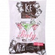 Лед пищевой кубический «Party» 2.25 кг.