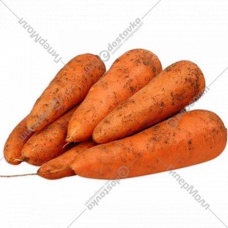 Морковь, 1 кг., фасовка 0.9-1.1 кг