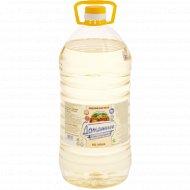 Масло подсолнечное «Домашнее» рафинированное, 2.8 л