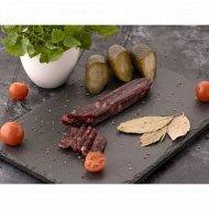 Изделие колбасное «Колбаса с мясом оленя» сыровяленое мясное, 90 г.