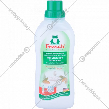 Ополаскиватель «Frosch» Миндальное молочко 750 мл.