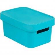 Коробка «Curver» infiniti, 04760-Х34-00, синий, 45 л, 270x190x120 мм.