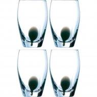 Набор стаканов «Luminarc» Drip black E5233