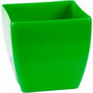 Горшок цветной квадратный, 150 мм, 2.5 л.