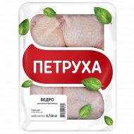 Бедро цыпленка-бройлера «Петруха» охлажденное, 750 г.