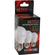 Лампа светодиодная «Ultra» LED теплый свет, 7 Вт.