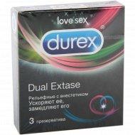 Презерватив «DUREX» Dual Extase.