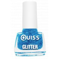Лак для ногтей «Quiss» Glitter, тон 05, 6 мл.