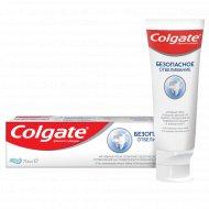 Зубная паста «Colgate» безопасное отбеливание, 75 мл.