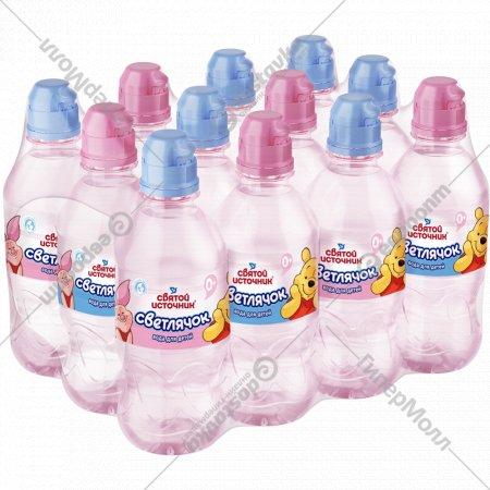 Вода питьевая негазированная «Светлячок» 12х 0.33 л.